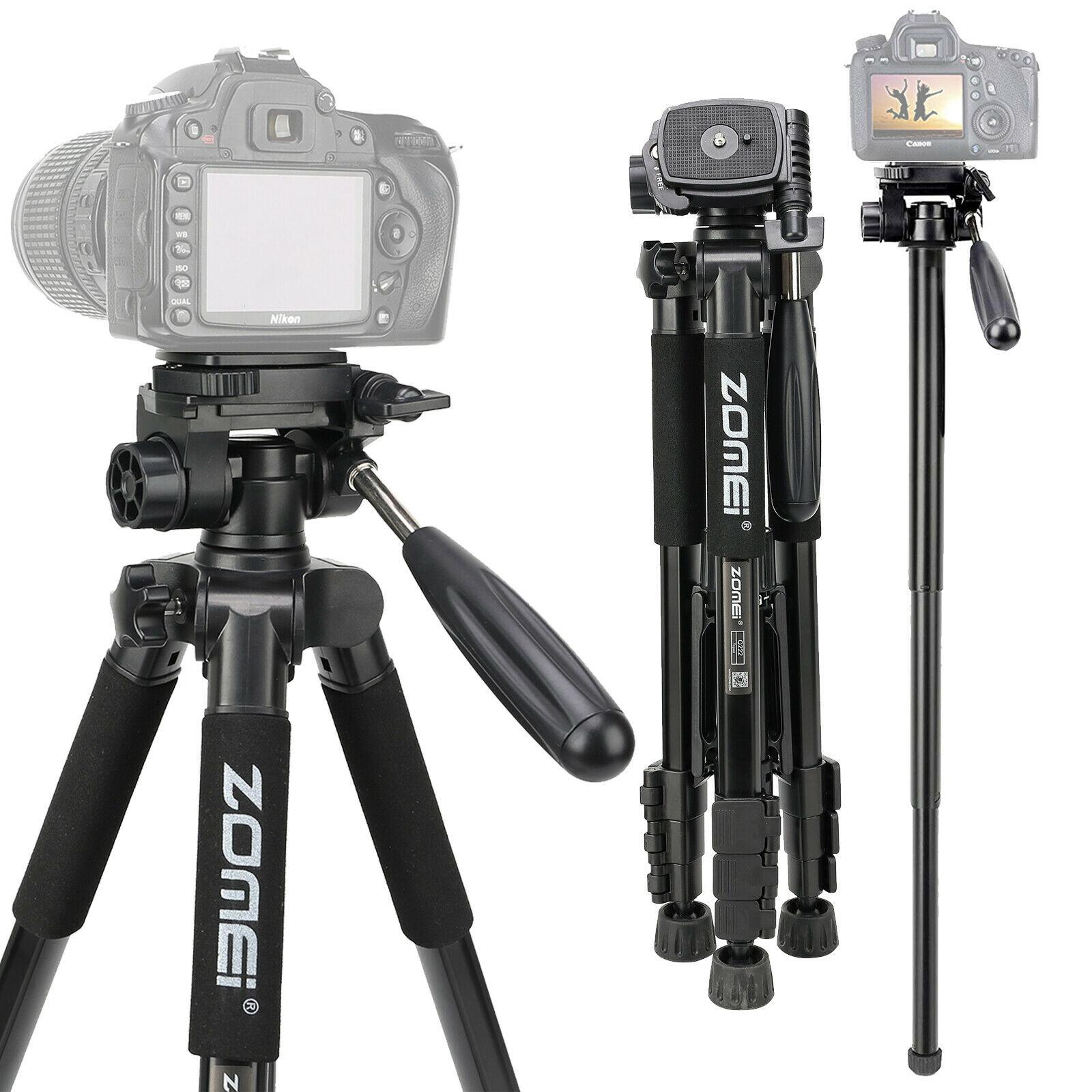 Q222 Pro Portable Camera Tripod Monopod Head