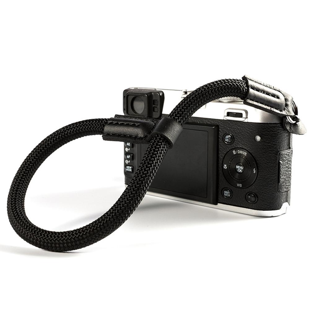 Soft Hand Grip Wrist Strap Professional Camera Accessory for SLR/DSLR Camera black