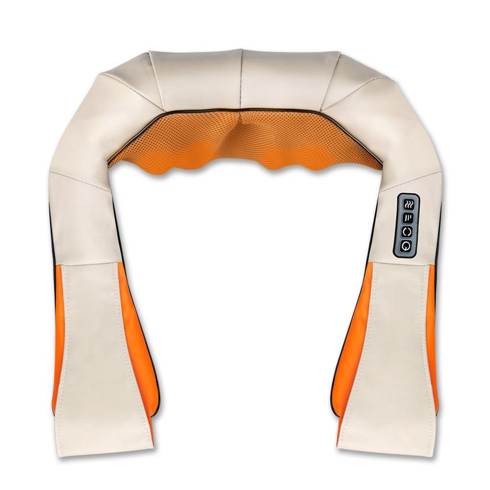 Multifunctional kneading massage shawl U Shape Electrical Cervical Back and Neck Shoulder Body Massager Shawl US standard 110V