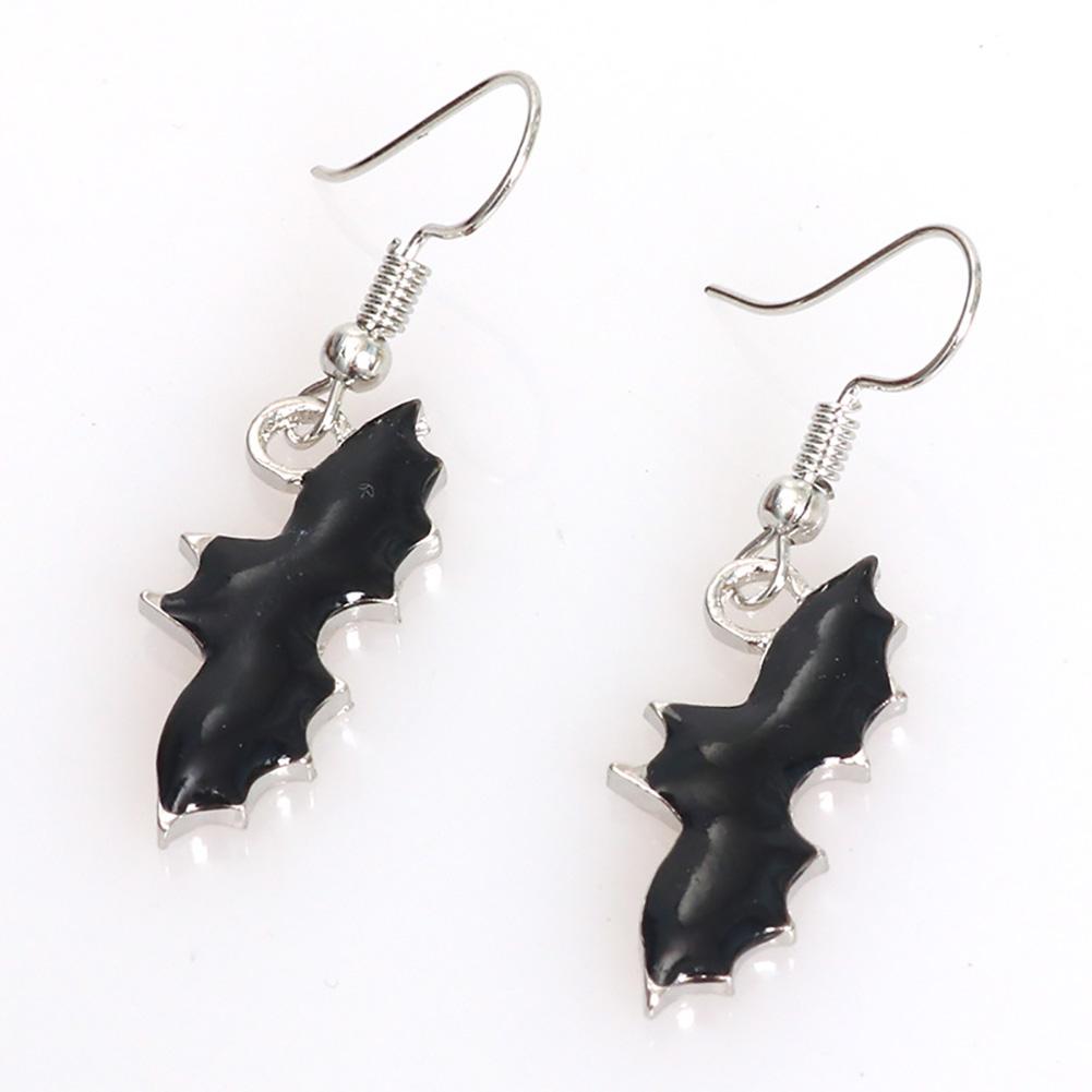Punk Jewelry Halloween Pumpkin Earrings New Funny Bat Spider Halloween Earrings bat