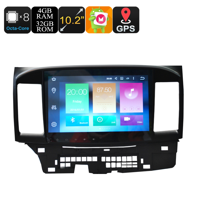 2 Din Car Stereo For Mitsubishi