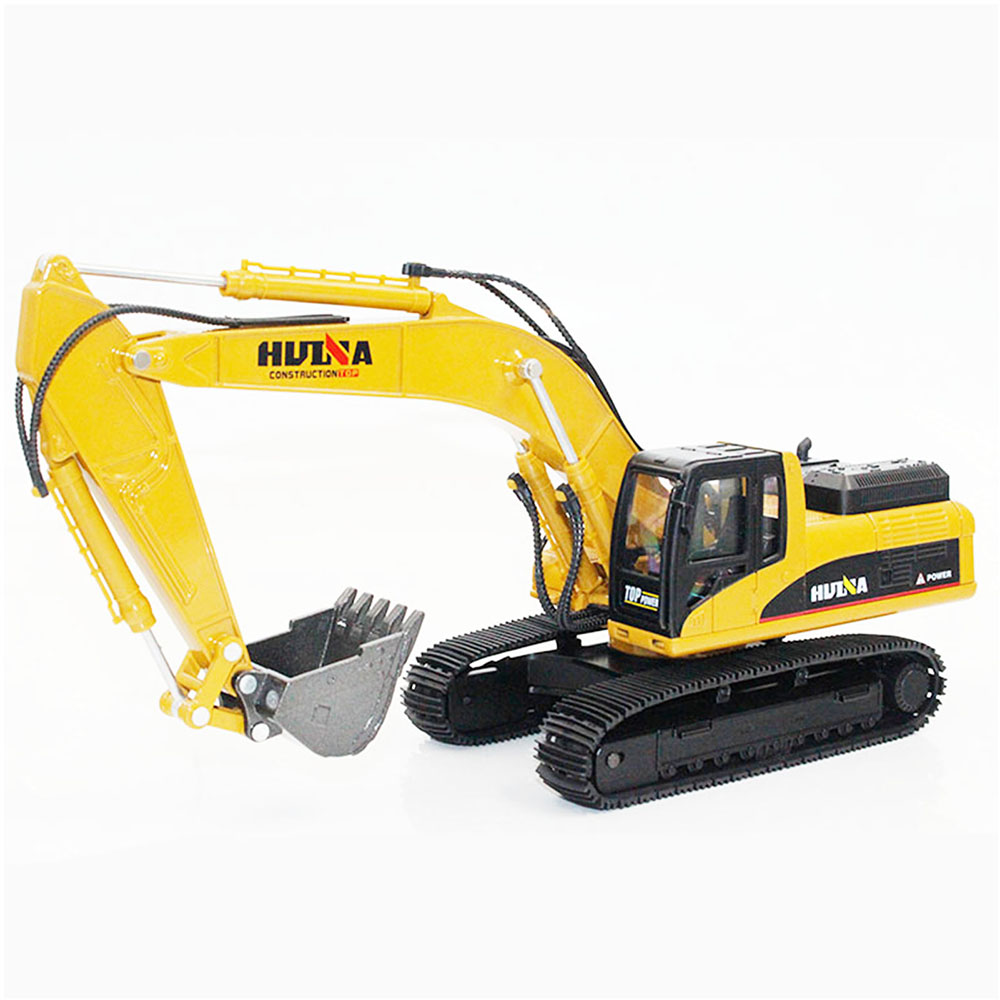 1910 Alloy Excavator Construction Toys Construction Vehicle Models 1:40 Scale Design For Kids 1910