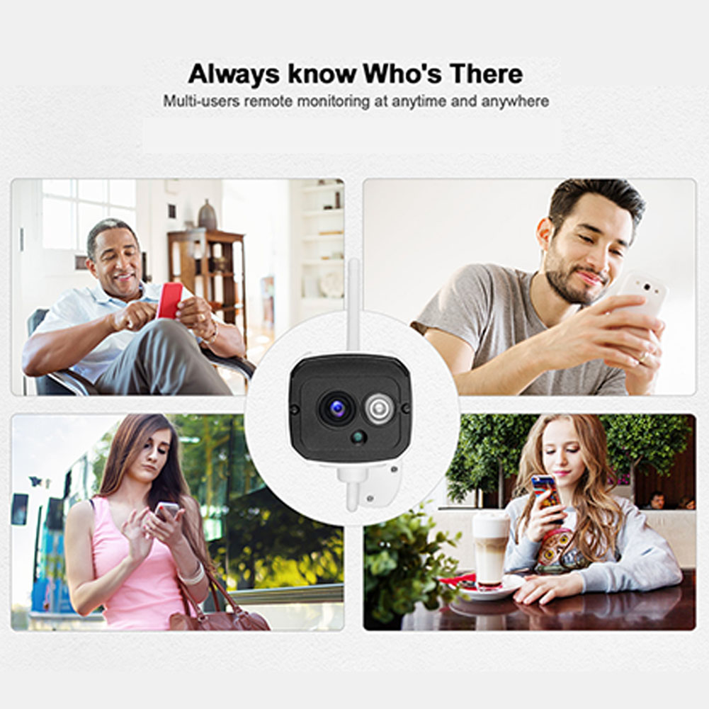 HD 1080P 2 Million Pixels Home Security IP Camera Wireless Smart WIFI Camera Audio Record Baby Monitor AU Plug
