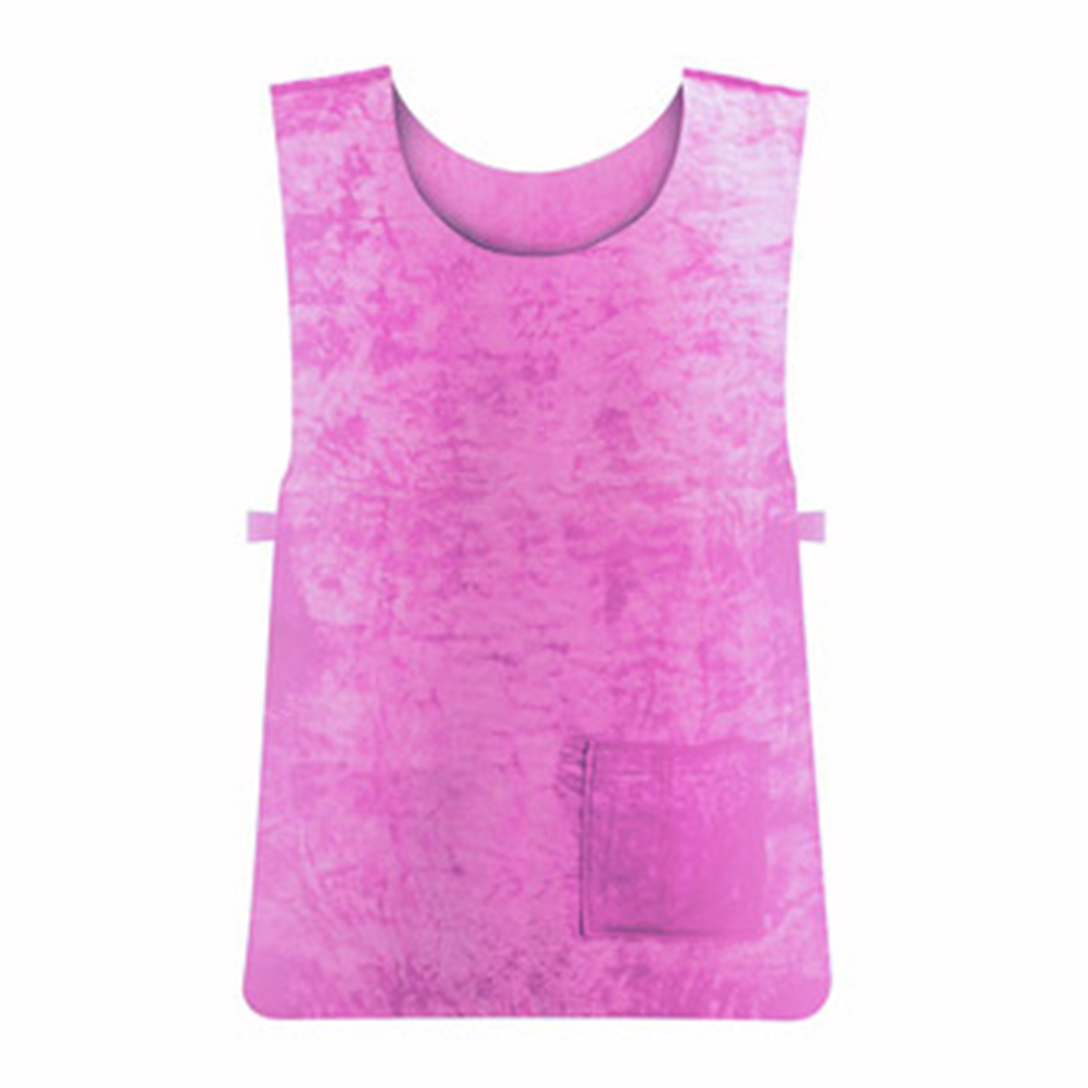 Cooling Vest Waterproof Sport Vest High Temperature Protective Sports Clothes Pink_Free size