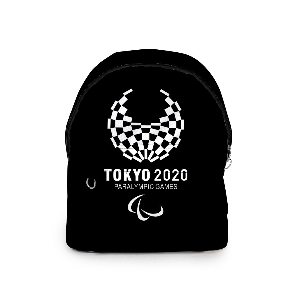 Sports Backpack 2020 Tokyo Olympics Print Casual Bags P1_Free size
