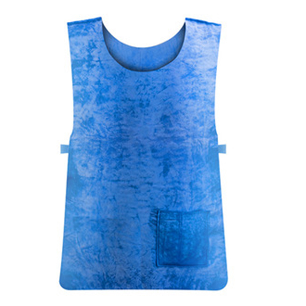 Cooling Vest Waterproof Sport Vest High Temperature Protective Sports Clothes blue_Free size