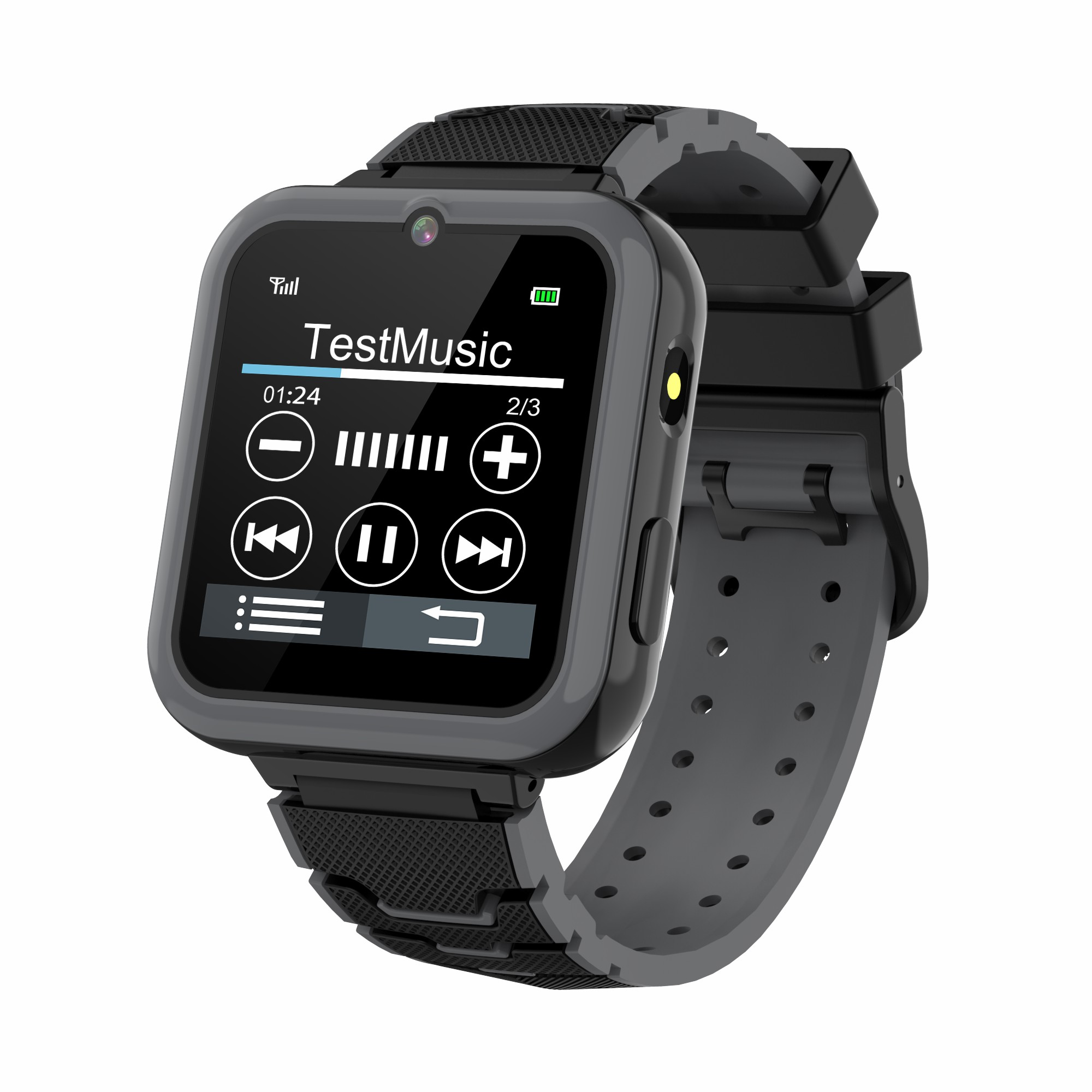 Y16 Kids Smart Watch Multi-language Ips Screen Game Camera Video Phone Smartwatch black