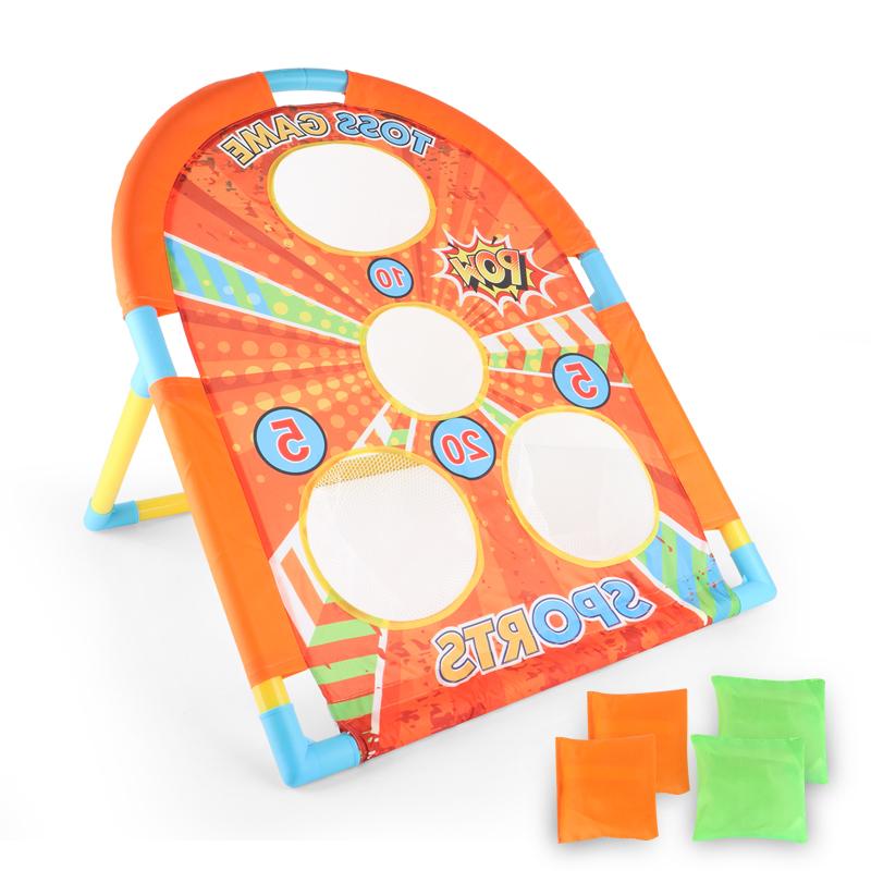Kids Throwing Sandbags Toy Sport Sandbags Bean Bag Game Interactive Educational Toy As shown