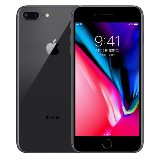 Refurbished iPhone 8 Plus 64G phone US-Gray