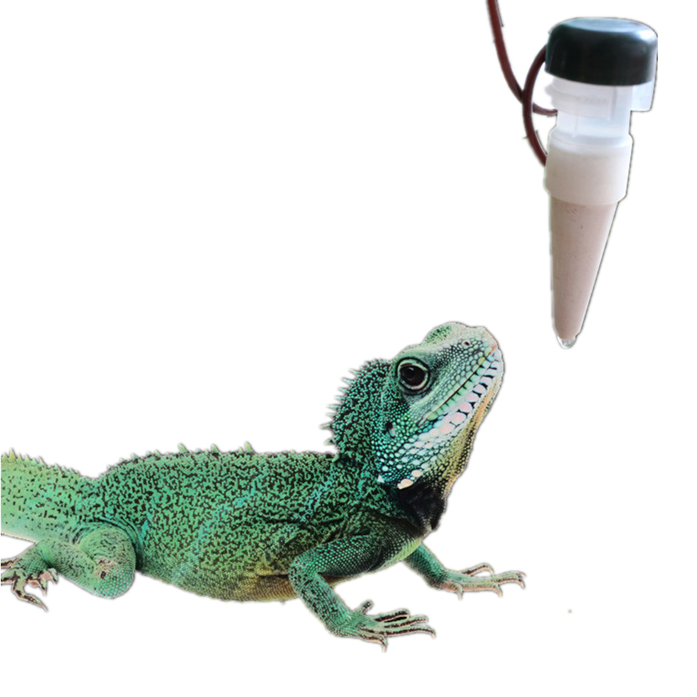 1300ML Reptile Water Filter Drip System Drinking Fountain Water Dispenser Humidifier for Chameleon Lizard Gecko  as shown