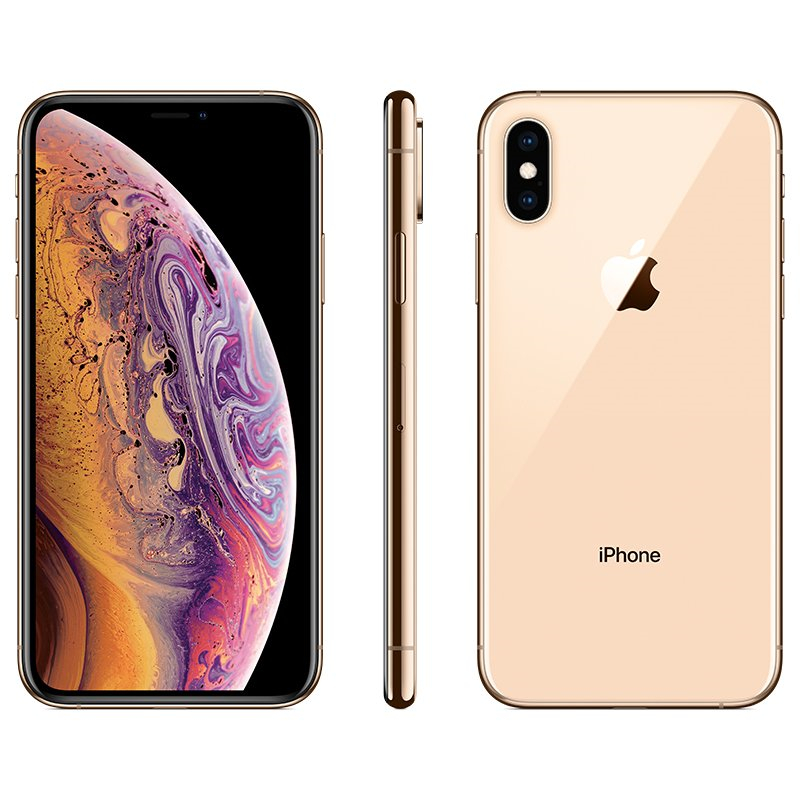 Apple IPhone XS 4G LTE Phone Gold_256GB