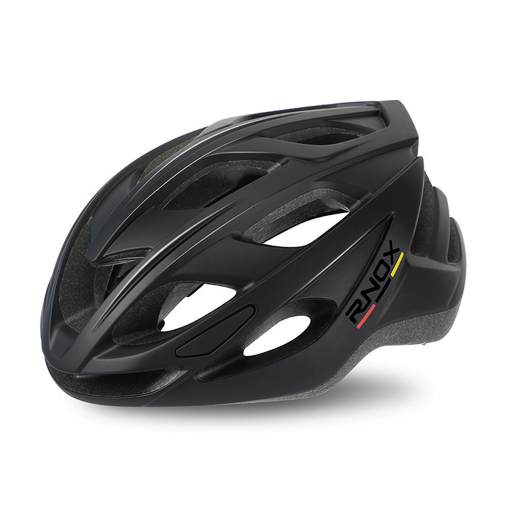 Aerodynamics Helmet Ultralight Unisex Integrated Bicycle Helmet Road Racing Cycling Safety Bike Helmet Riding Equipment Matte Black_One size