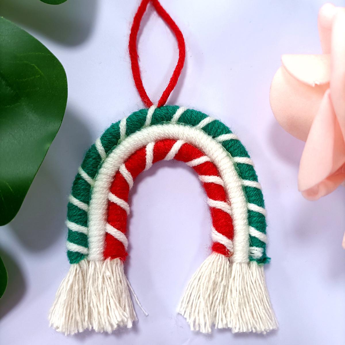 Christmas Rainbow Ornaments Christmas Tree Pendant For Household Decoration C06