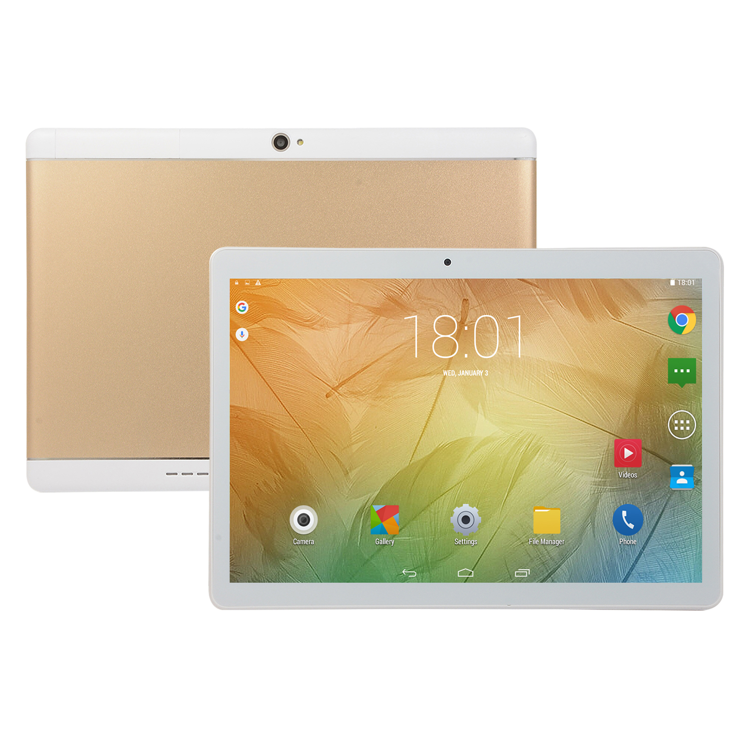 10.1 inch Tablet 8+128G with GPS gold EU