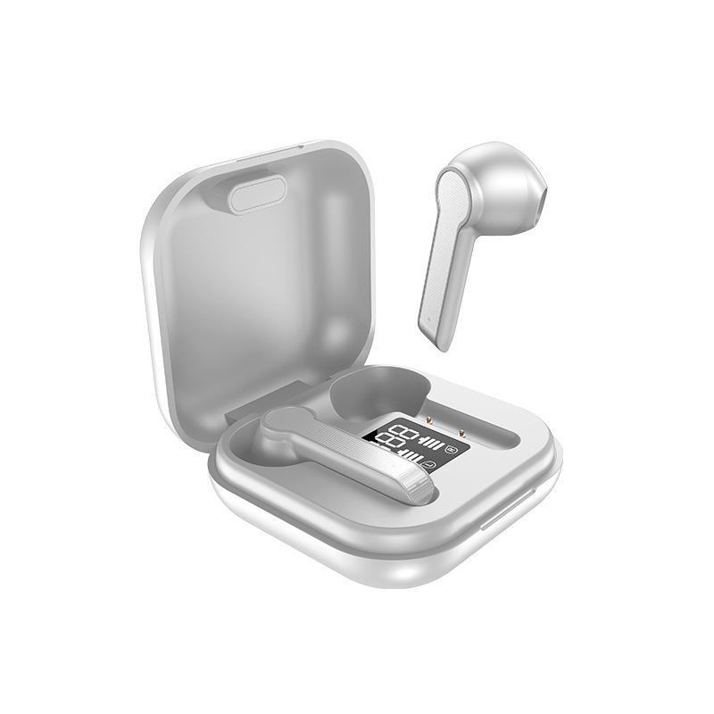 Lb-30 Wireless Bluetooth Headset Tws Noise Reduction 3500mah Battery Earphones white