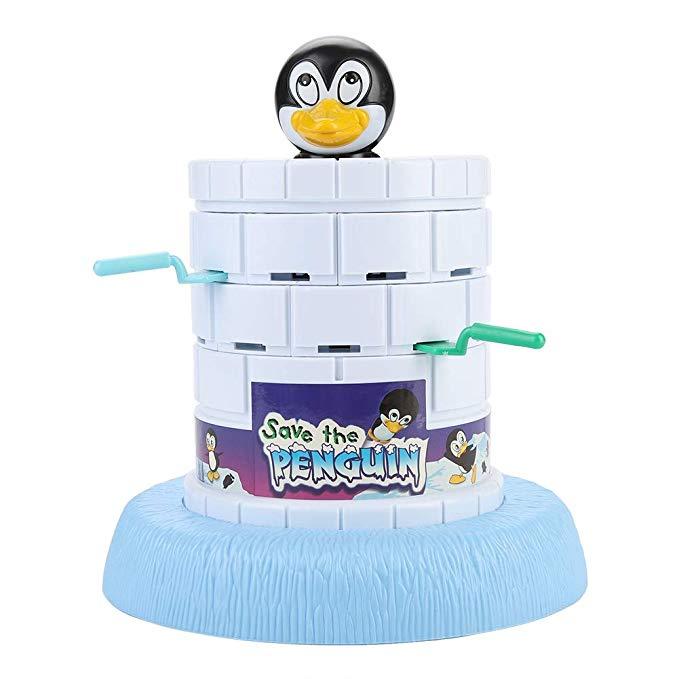 Digging Blocks Out Cartoon Penguin Educational Parent-child Puzzle Toy