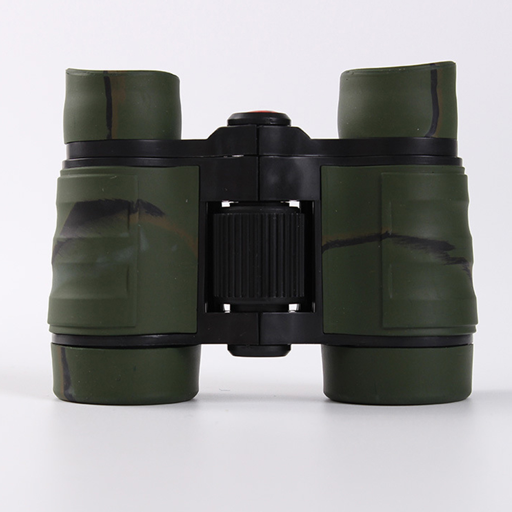 4*30 Colorful Rubber Handle Anti-skid Children Toy Binocular Telescope jungle