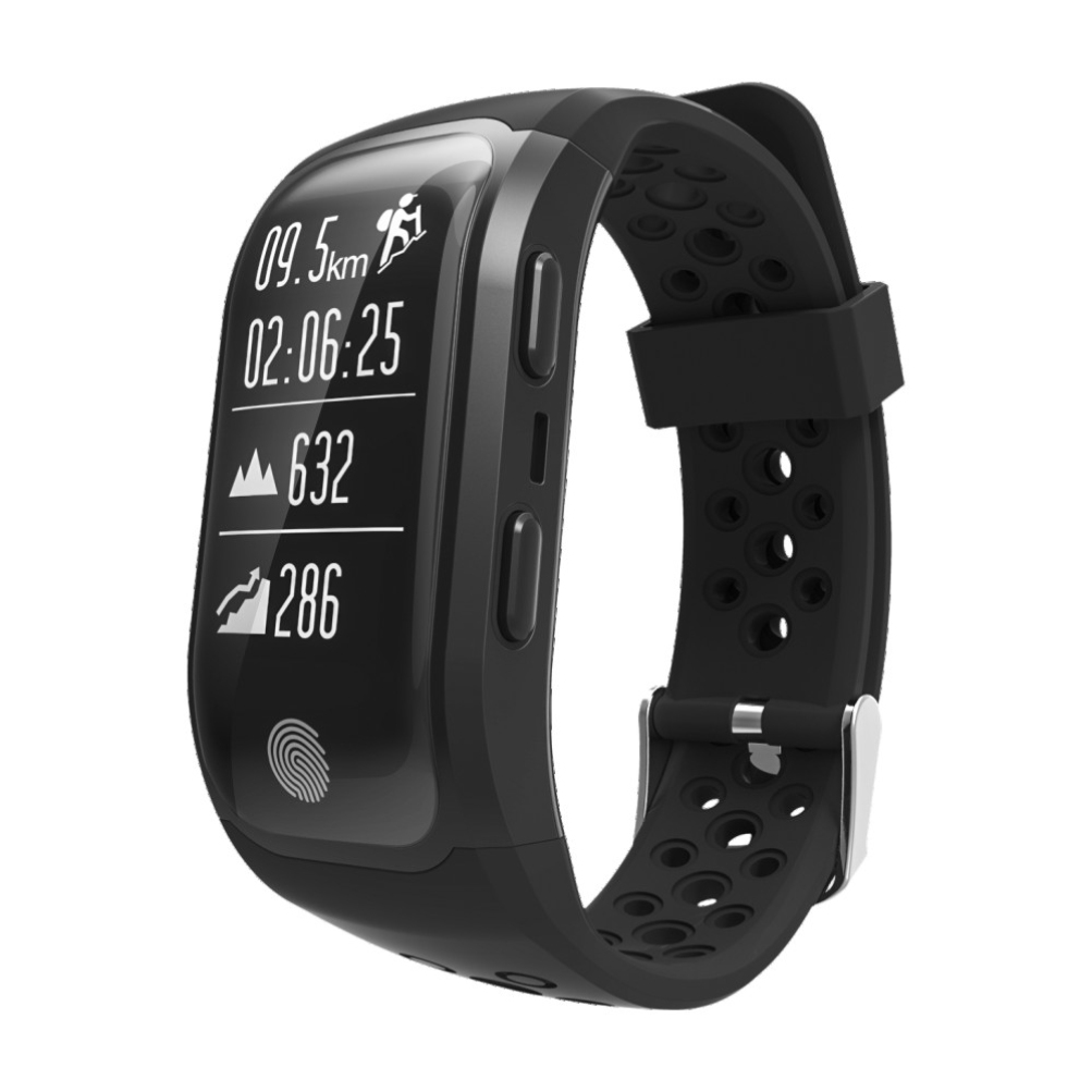 Bluetooth 4.0 IP 68 Waterproof Smart Watch Touch Screen Heart Rate Monitor for Multiple Movements with GPS Location