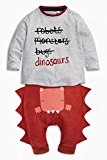 Boys Girls  Dinosaur Costume with Round Neck  for Halloween Costume