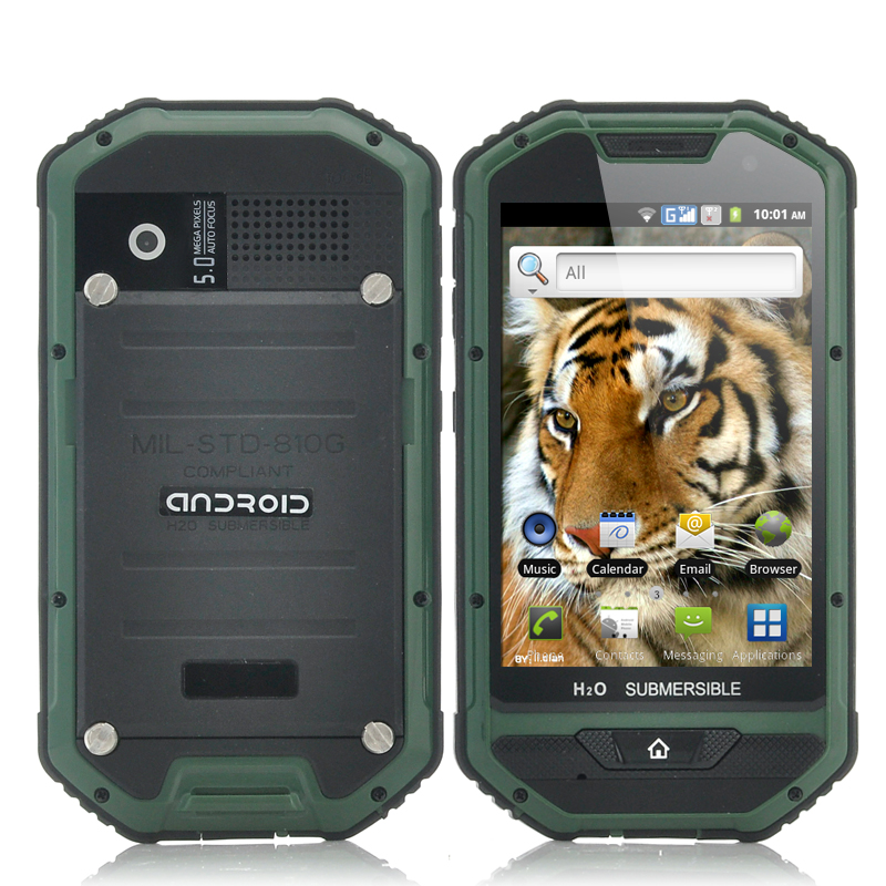 Rugged 4 Inch Android Phone - Mastodon II
