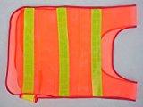 [EU Direct] Safety Security Day/night Mesh Biking Running Jogging Vest, Visibility Reflective Reflector Vest Gear,orange