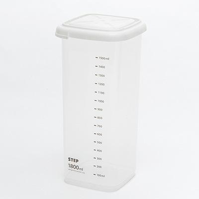 Storage Case Kitchen Transparent Airtight Container Preservation Box 1800ml