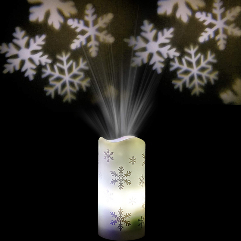 LED Snowman/Snowflower Christmas Projection Lamp Decoratins for Home Xmas Gifts Ornaments New Year snowflower