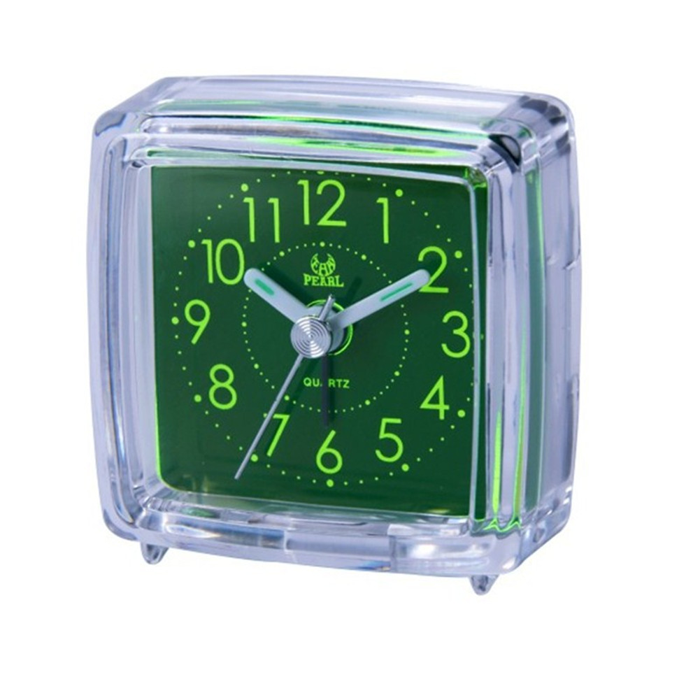 Silent Noctilucent Alarm Clock for Travel Bedside Study Room BB