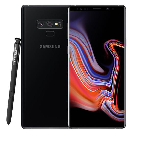 Used Samsung Galaxy Note9 European Version Single SIM Mobile Phone 6+128GB 4000mAh NFC 4G phone black