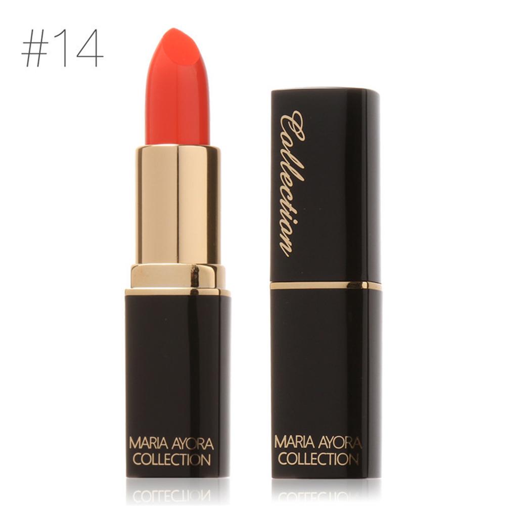 Women Girls Waterproof Exquisite Texture Matt Lip Glaze Moisturizing Lipstick Pencils Beauty Makeup, Nonstick Cup