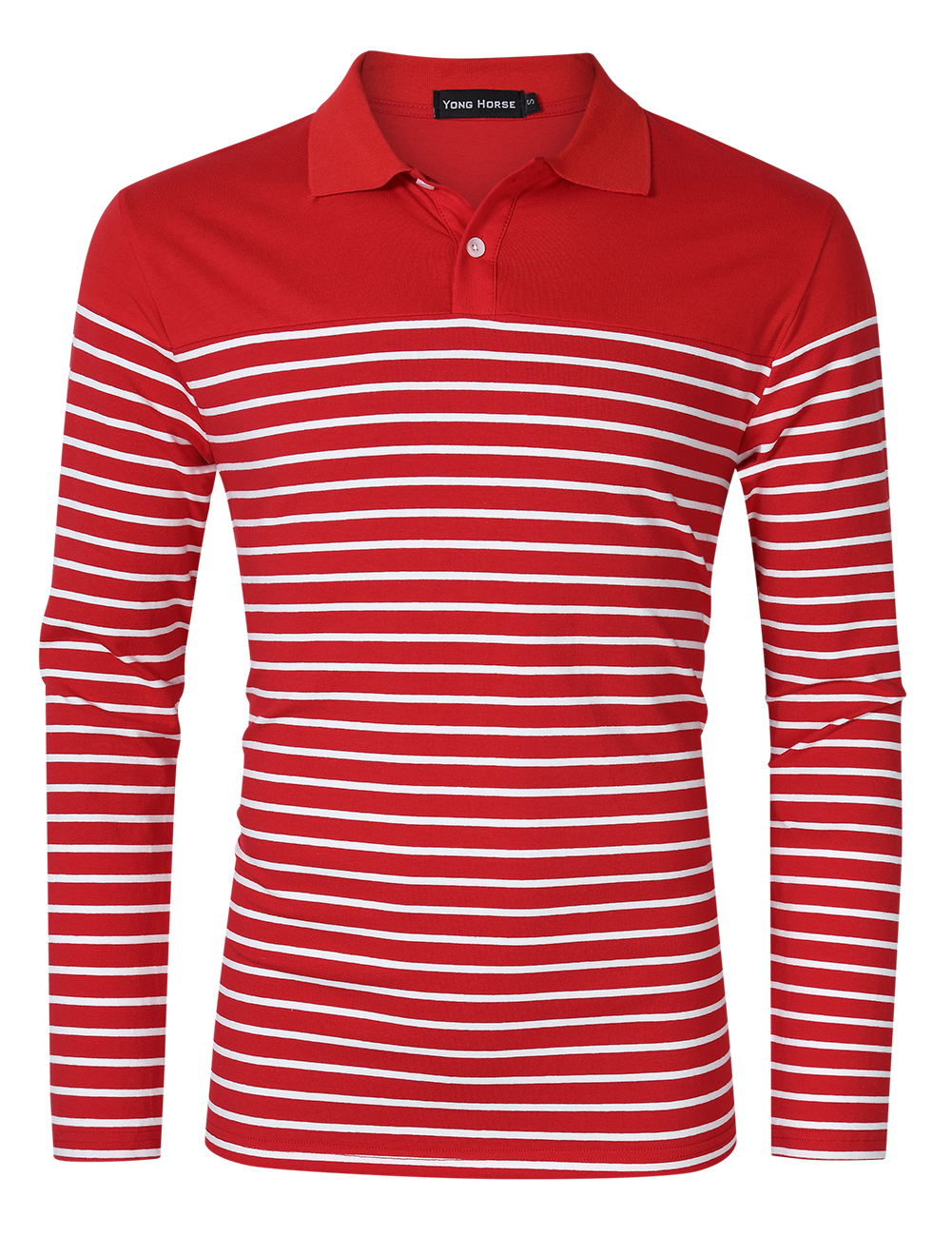 Yong Horse Men's Casual Fit Polo T Shirts