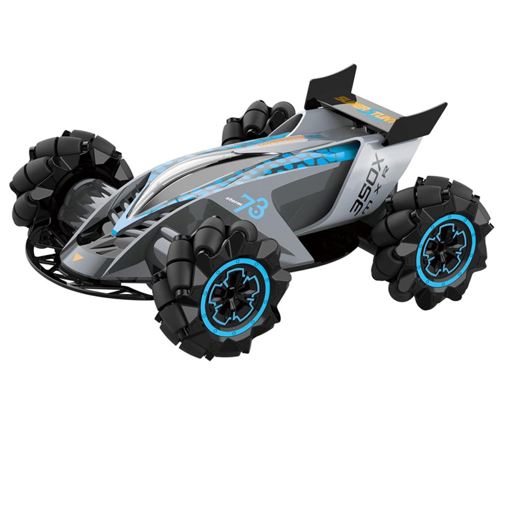 1:14 Z109 RC Car Cool Stunt Drift Car 360° Universal Wheels 2.4GHz Remote Control Toy  Gray
