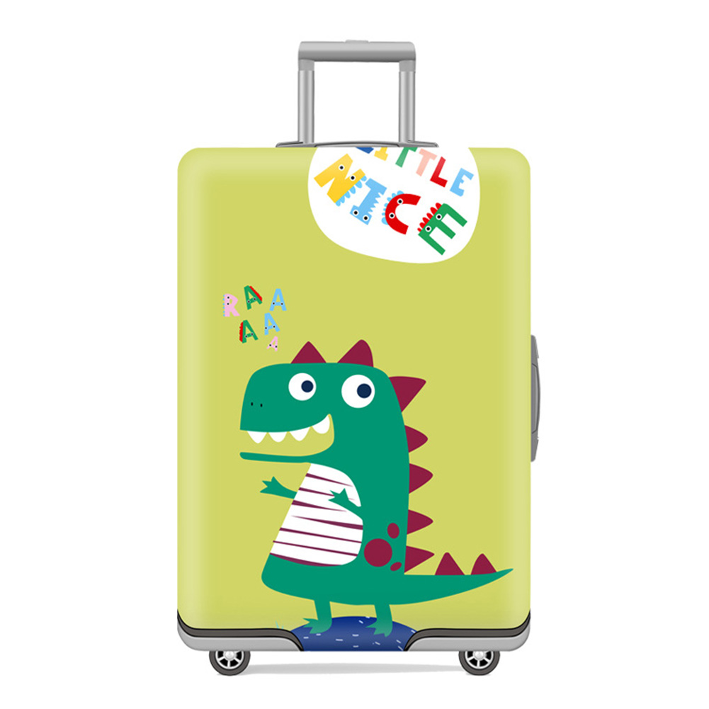 20/24/28/30 Inch Travel Suitcase Protective Cover Luggage Case Travel Accessories  Dinosaur_M 22~24 inch