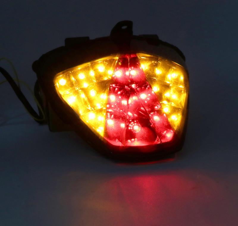 Motorcycle Rear Tail Light Brake Integrated LED Taillight for HONDA CBR250R CBR300R CB300F Transparent shell