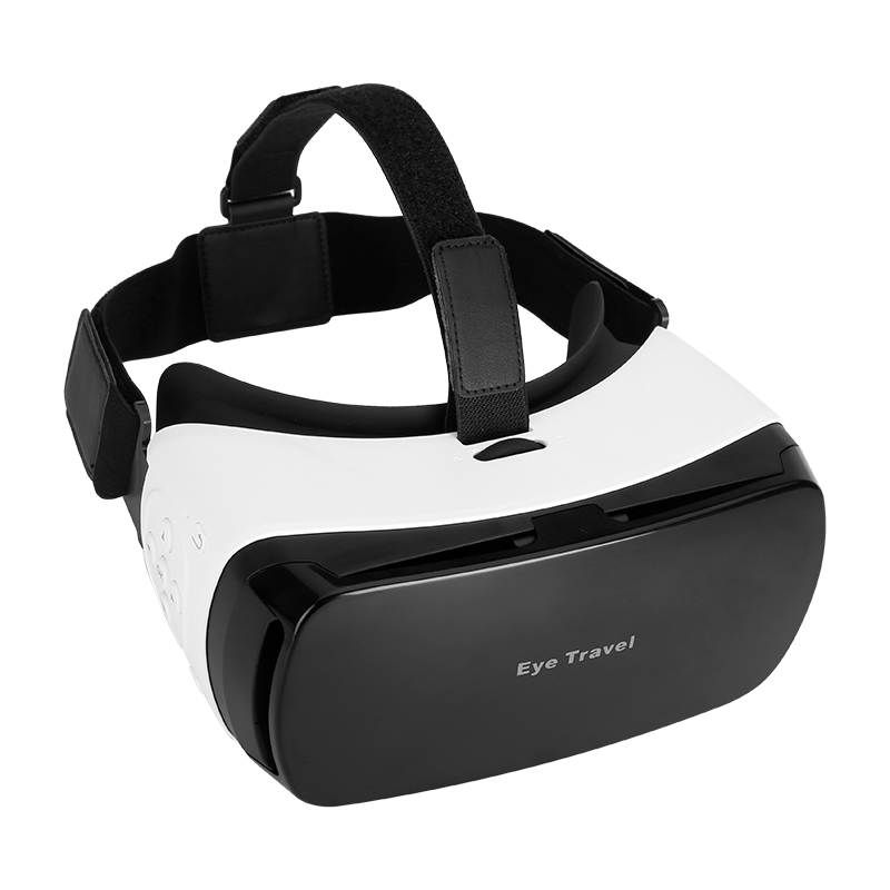 Virtual Reality 3D Glasses - For 3.5 To 5.5 Inch Smartphones, 110 FOV, Bluetooth, Head Band