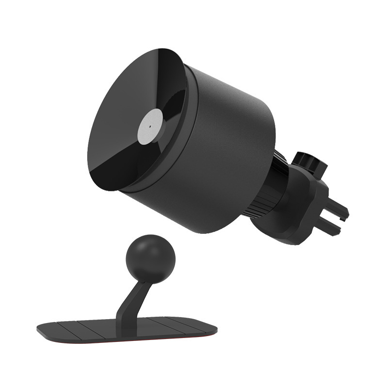 Vacuum Suction Cup Car Phone Holder Air Vent Mount Smartphone Bracket for Vehicle  black