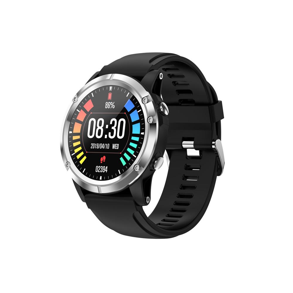 T5 Smart Bracelet Blood Pressure Measurement Waterproof Fitness Tracker Heart Rate Monitor Pedometer Band Silver black