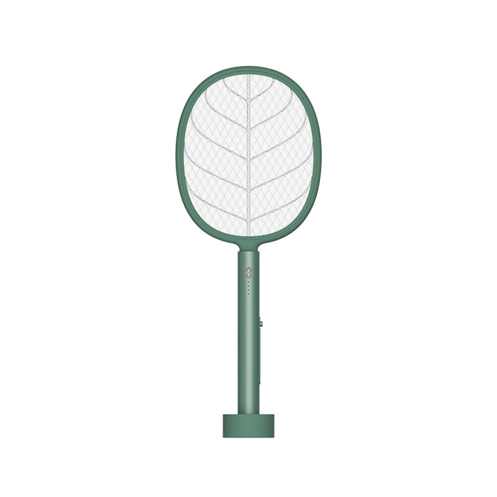2-in-1 Mosquito  Killer Household Electric Mosquito Swatter Usb Photocatalyst Insect Repellent Green