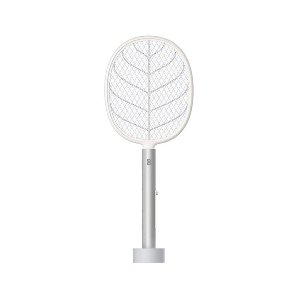 2-in-1 Mosquito  Killer Household Electric Mosquito Swatter Usb Photocatalyst Insect Repellent White