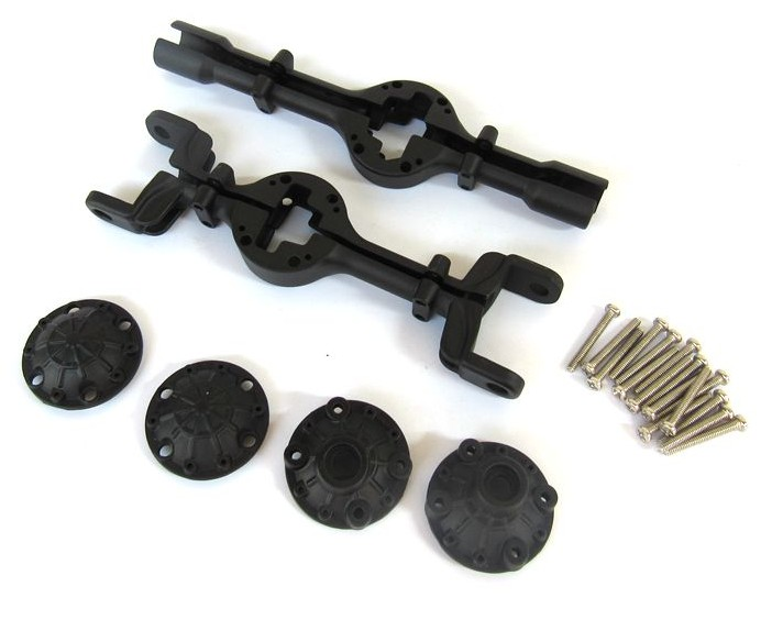 WPL B1 B-1 B14 B-14 B16 B-16 B24 B-24 C14 C-14 C24 B36 RC Car Spare Parts Metal Front and Rear Axle Housing black