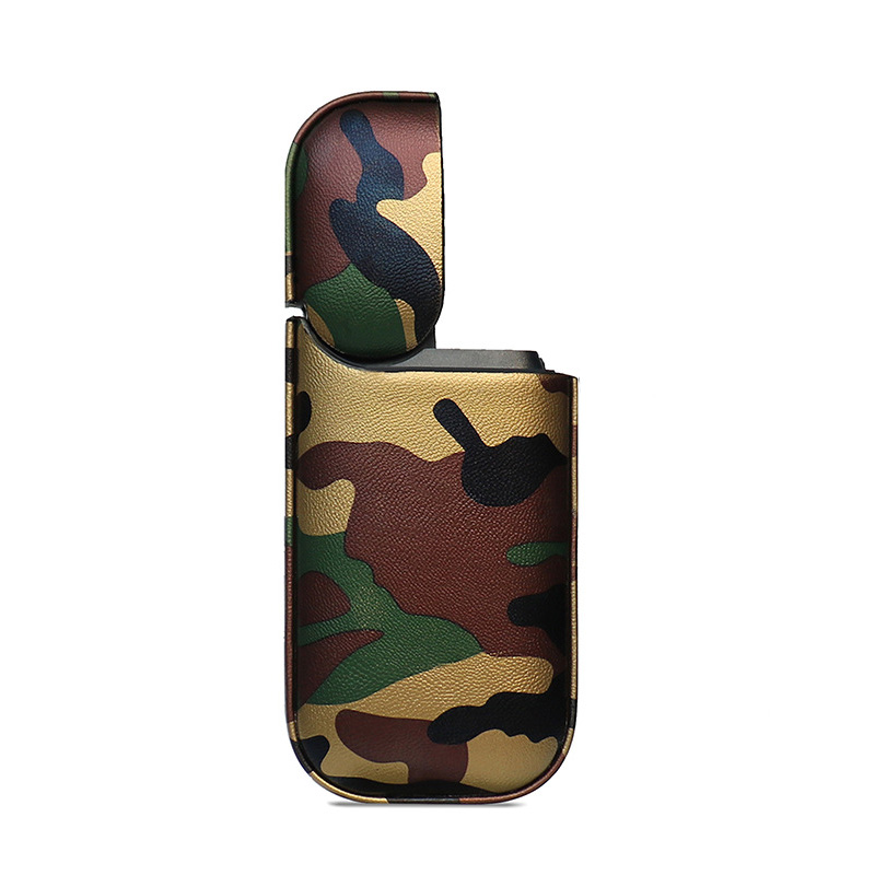 Camo PU Leather Case for IQOS - Green