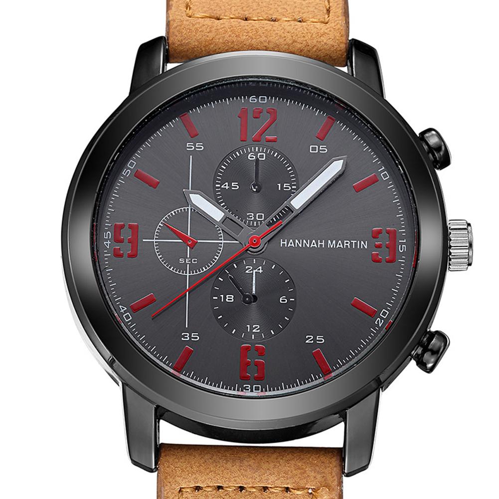 Hannah Martin Man Male Business Casual Quartz Wrist Watch