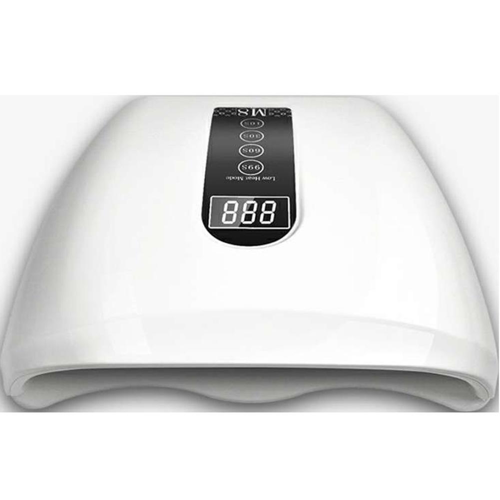 Nail Dryer UV LED Nail Lamp Gel Polish Curing Lamp Skin Care Red Light Lamp Auto Sensor Manicure Tools British regulatory