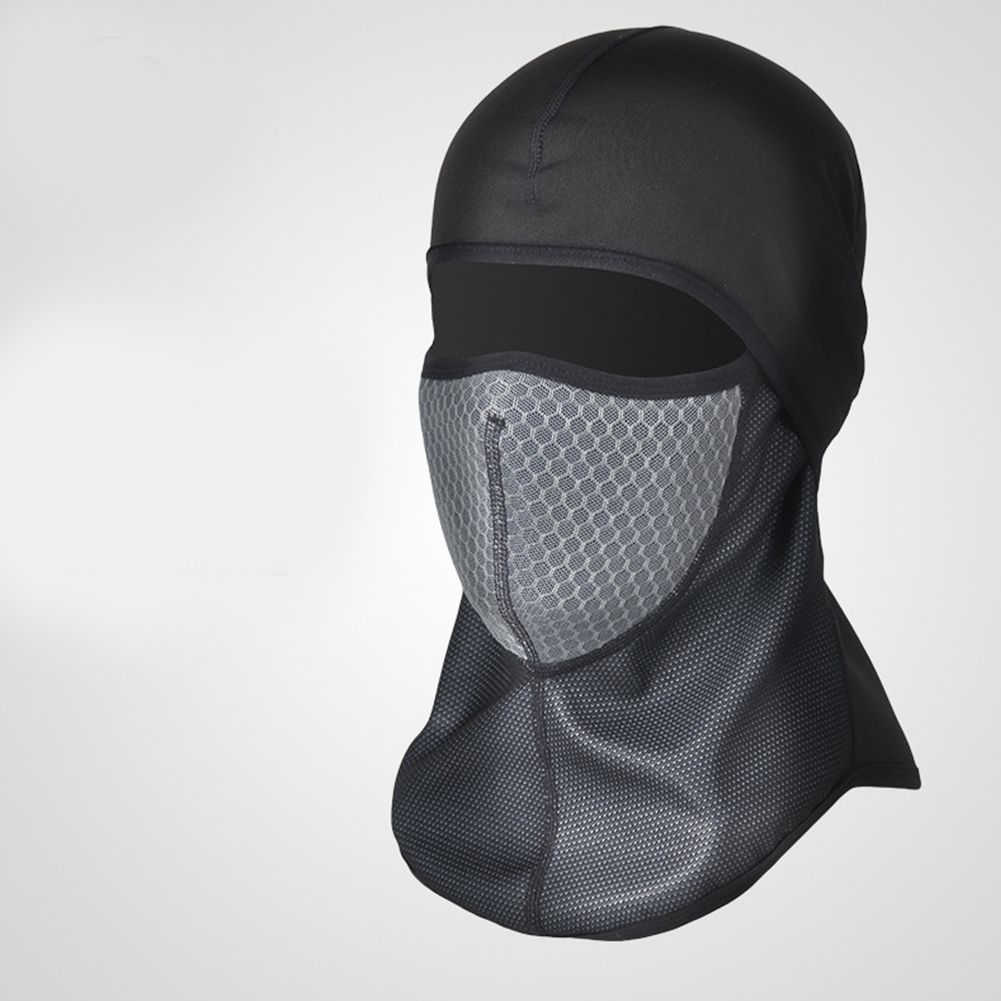Motorcycle Head Covering Masks Windproof Cold Proof Cycling Masks Balaclava Cap Motorcycle Head Covering Masks gray_One size