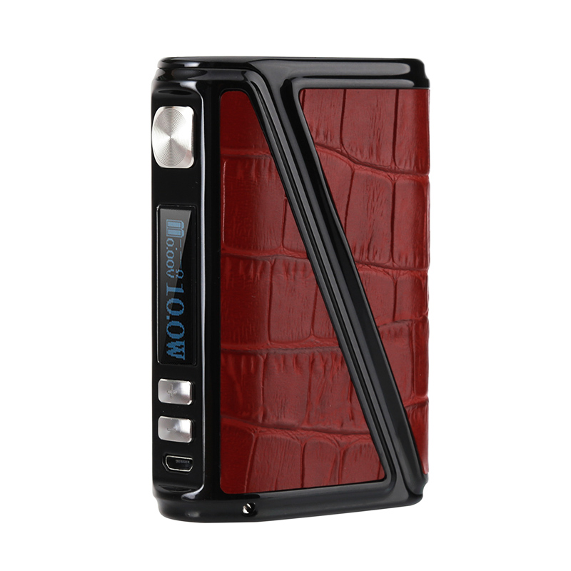 Warlock Z Box 230 Box Mod (Red Leather)