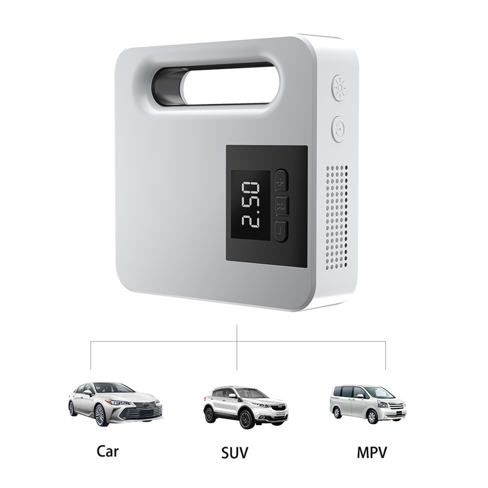 Portable Car Air Pump Automatic Charging Type Car Air Pump Digital Tire Air Pump With Light Digital display type