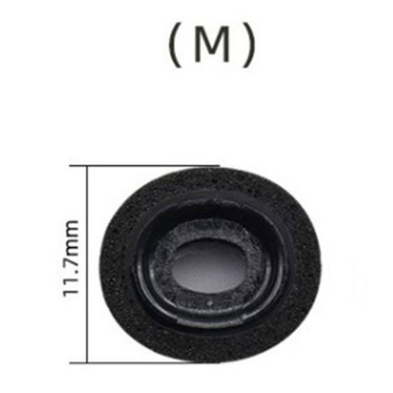 Memory Foam Replacement Ear Tips Earbud Earphone Cap For Apple Airpods Pro Headphones black_M