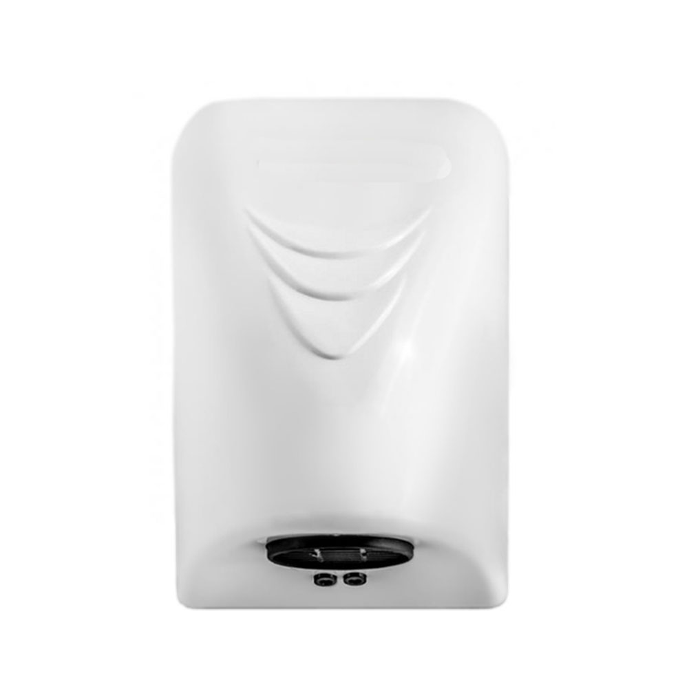 1000W Hotel Home Electric Automatic Induction Hands Dryer white_220V-European insertion