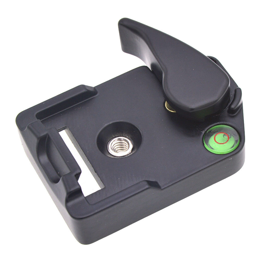 323 Rapid Connect Adapter with 200Pl-14 Quick Release Plate for Manfrotto  black