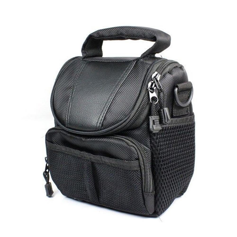 Camera Bag For Sony NEX5R 5100L Nikon P520 Canon SX50 HS Camera Shoulder Bag Black_13.7X18.3X10.6cm